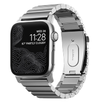 Браслет Nomad Titanium Band для Apple Watch 42/44 мм Серебро